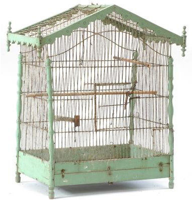 awesome with cage a oiseaux decorative ancienne. Black Bedroom Furniture Sets. Home Design Ideas