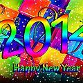 Bonne et heureuse annee 2014 a tous nos lecteurs