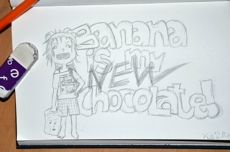 banana chocolate by Kobaitchi