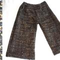 Pantalon laine tweed