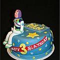 Gâteau Toys Story côté Woddy and buzz cake