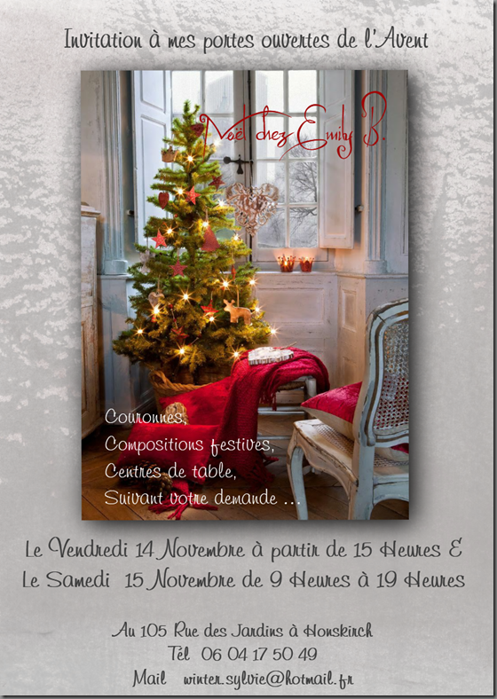Invitation 1 mail PO Avent 2014