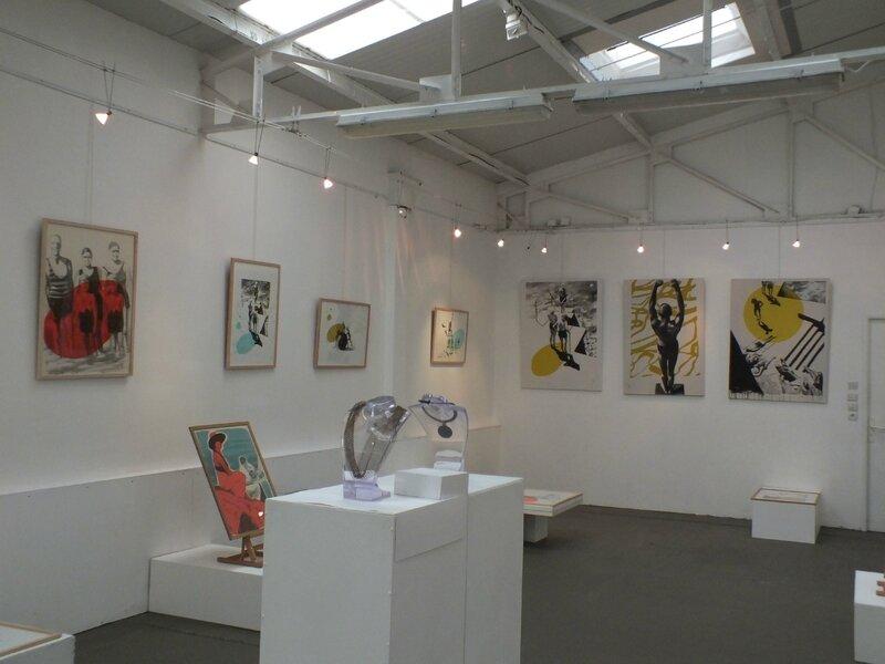 Galerie le Hangar - Evreux - exposition Valérie Betoulaud mars 2017