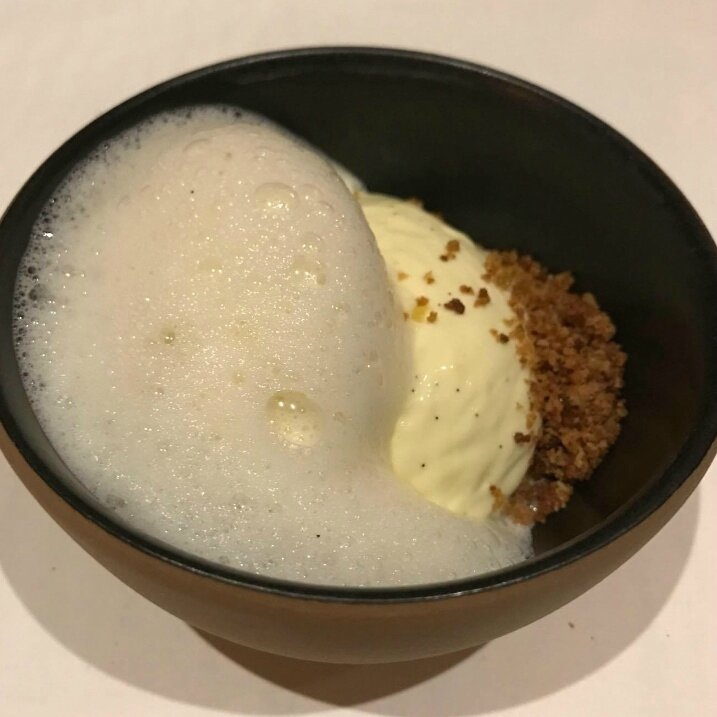 Glace vanille, pomme (1)