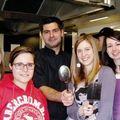 Concours de cuisine à l'hostellerie des criquets, blanquefort - 2 avril 2011