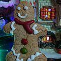 Gingerbread men {sans gluten}