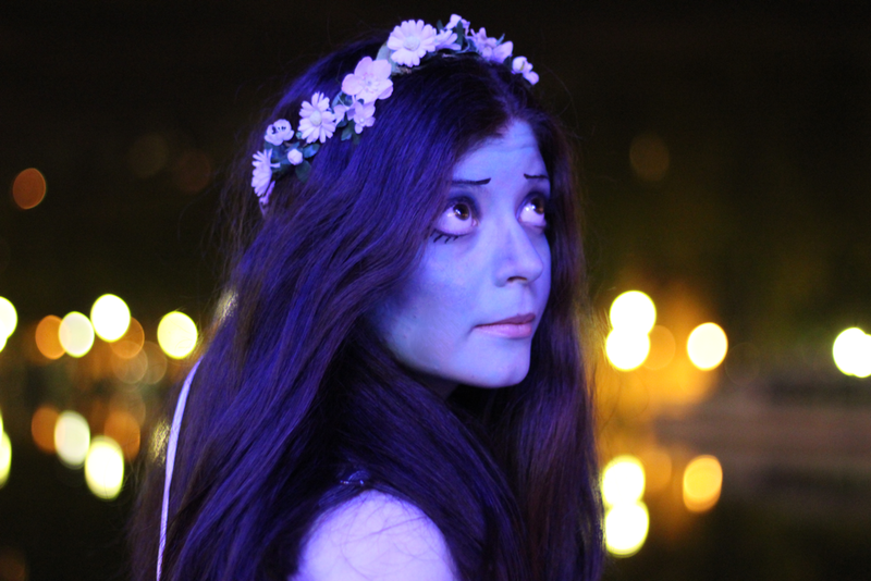 make up inspiration Corpse bride emily