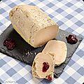 Foie gras cuit à basse température