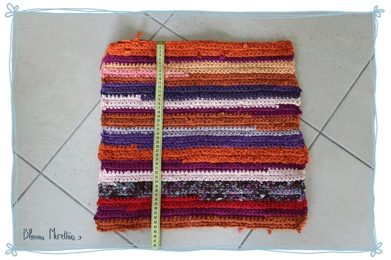 Tapis crochet 03