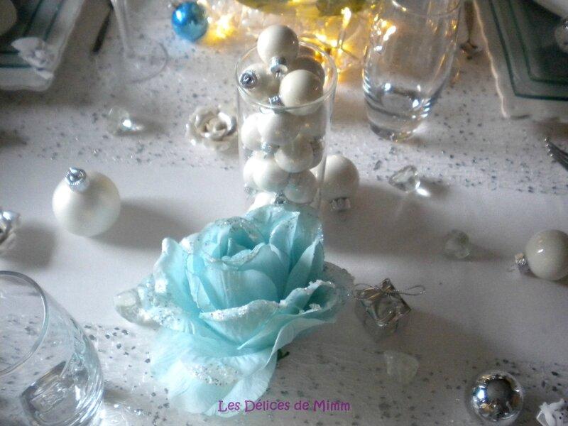 Ma table Noël Blanc 8