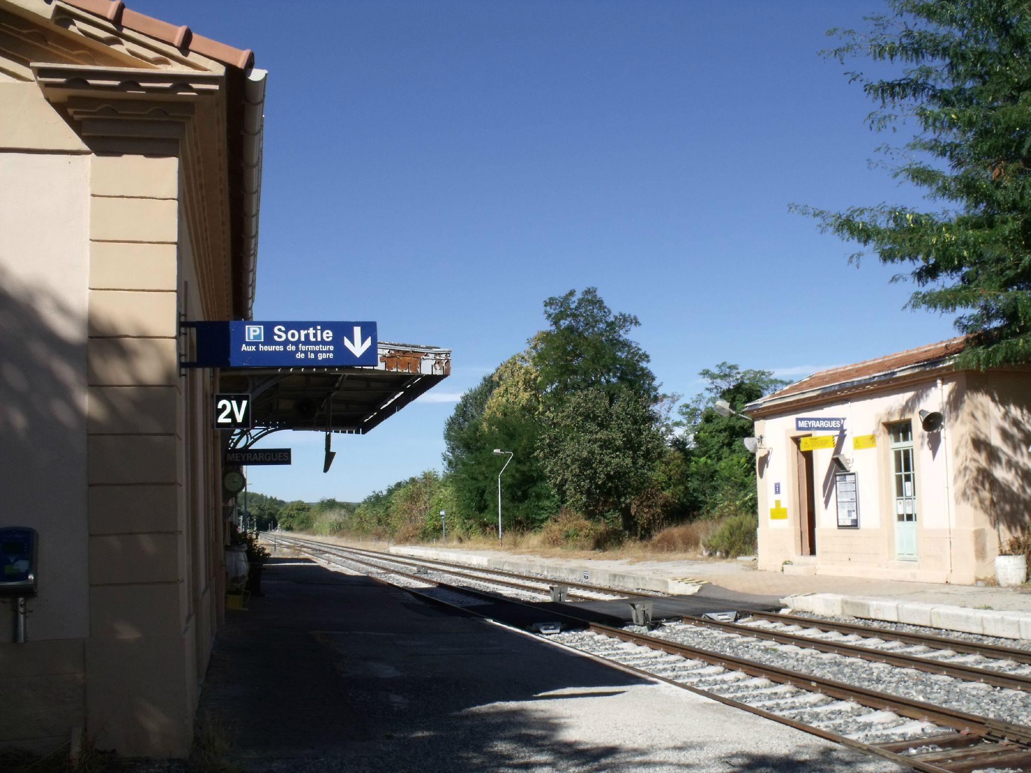 Meyrargues gare PLM (Bouches-du-Rhône) 2