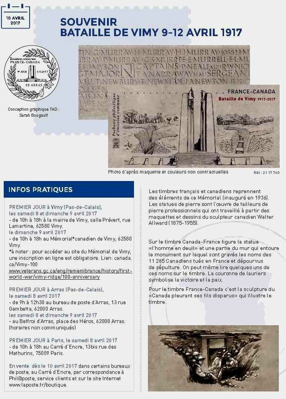 Timbres Vimy2