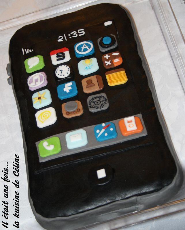 recette petit gateau iphone