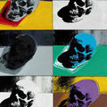 Andy warhol's skulls series in contemporary art sale @ sotheby's