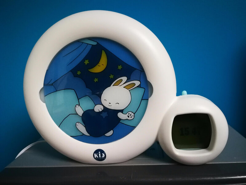 Réveil Kid'sleep Moon CLaessens Kids