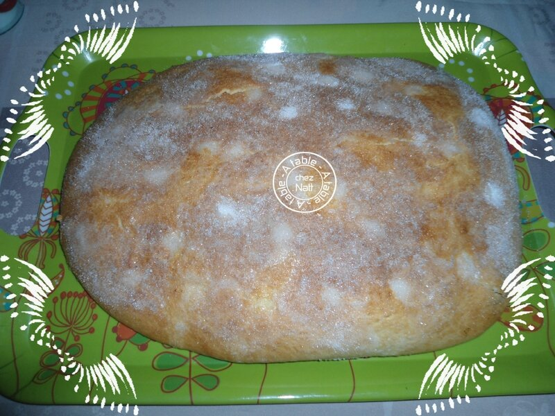 fougasse d'aigues morte