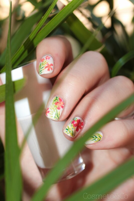 nail art tropical-9