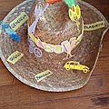Chapeau customisé anniversaire