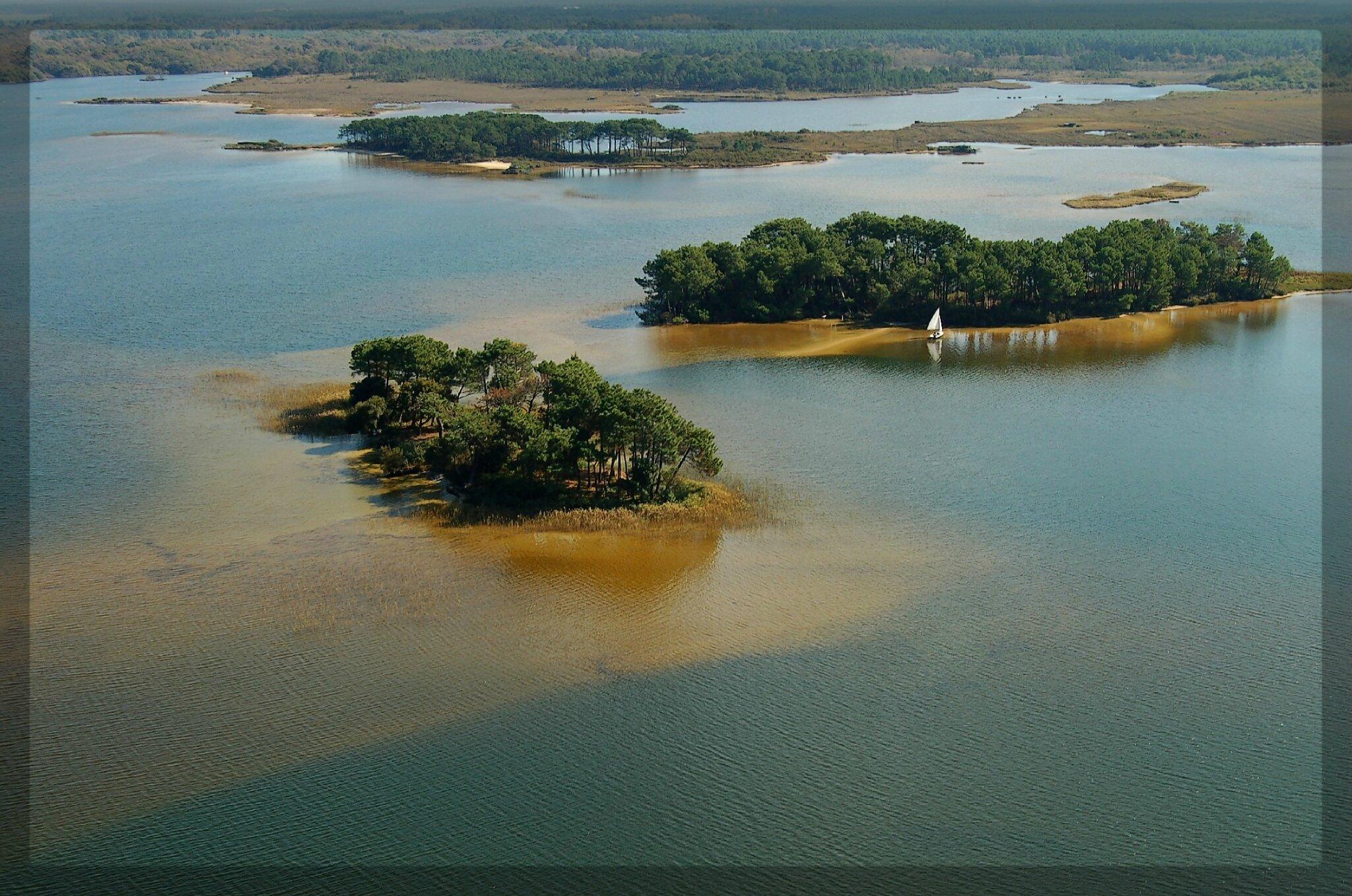 Les îles de Lacanau (découverte en photos)
