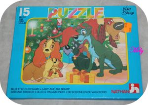 Puzzle Belle et clochard