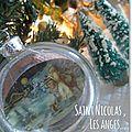 Boule Saint Nicolas à la crèche - marimerveille
