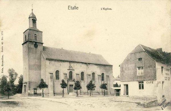 GA Etalle l Eglise vers 1900
