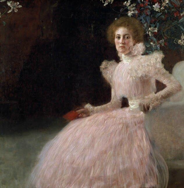 Klimt_Portrait of Sonja Knips
