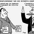 Retraites complémentaires : accord syndicats - medef