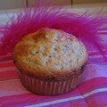 Muffins pistache/chocolat blanc