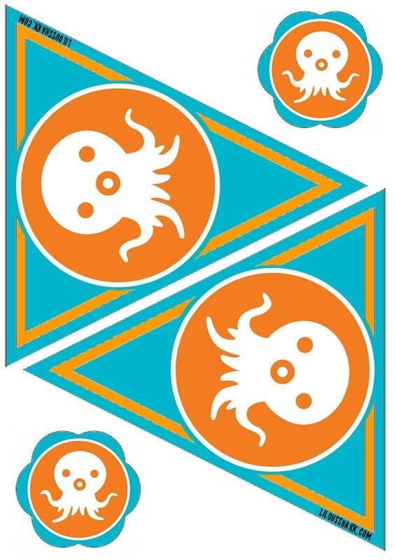 printable fanion logo octonauts
