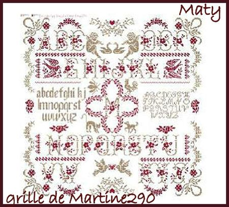 maty choix grille