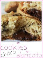cookies choco-abricots - index
