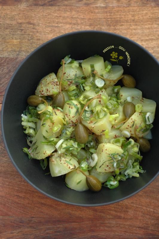 Cuisine à la bière, salade de pommes de terre