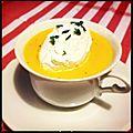 Soupe carotte-cumin : ma chouchoute ! [mél]