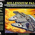 Millennium falcon finemolds 1/72 (with lights)