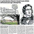 D'elbée et la loge, patrimoine historique de beaupréau (49)