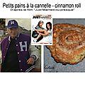 Petits pains à la cannelle - cinnamon roll