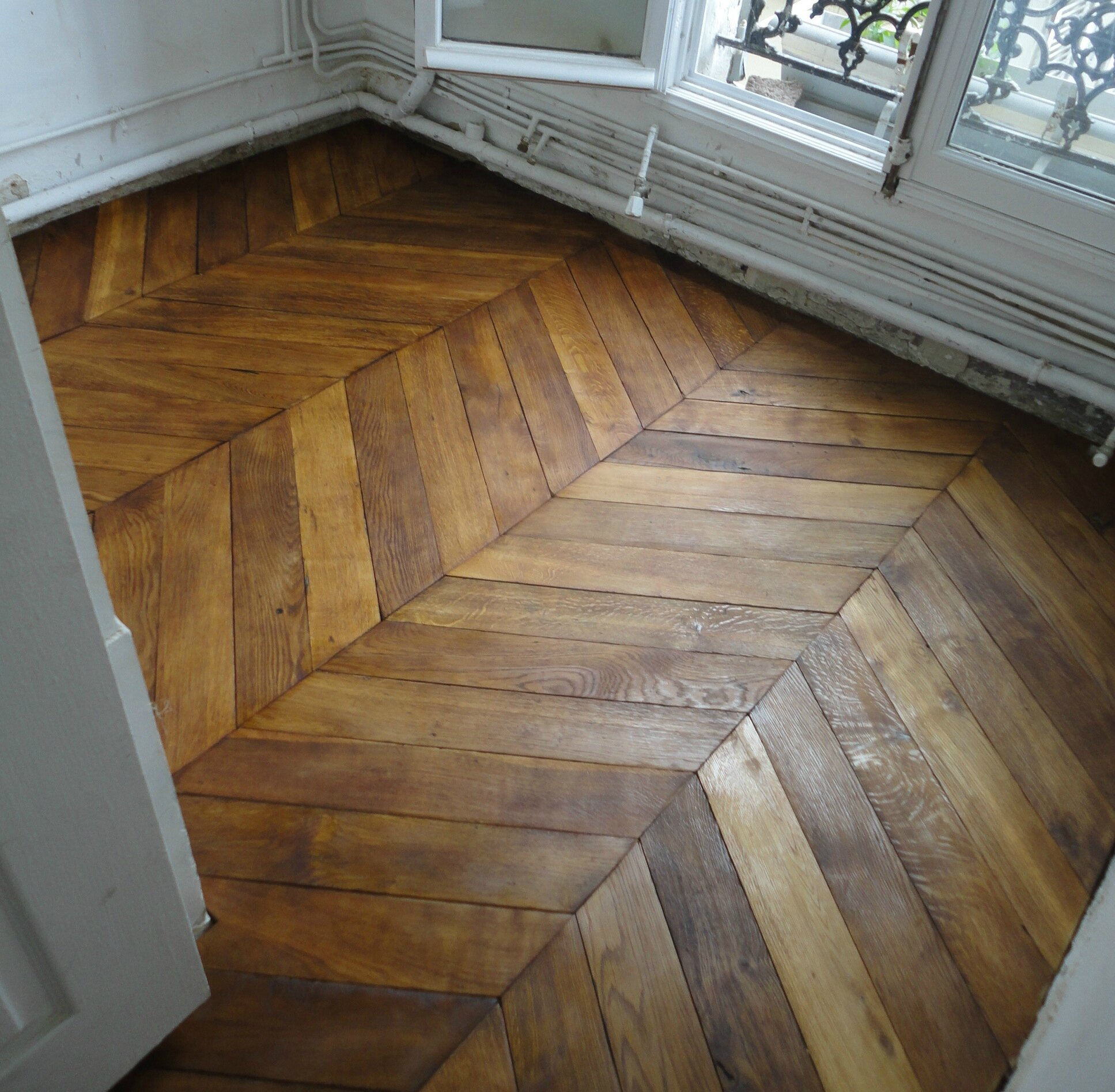 Les al as du parquet ancien pisode 1 grenouille citadine - Renovation parquet ancien ...