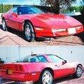 CHEVROLET - Corvette - 1989