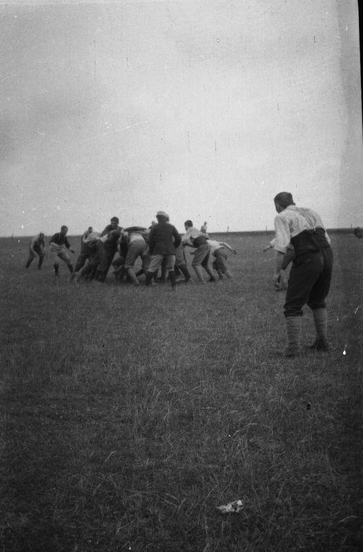 La partie de rugby