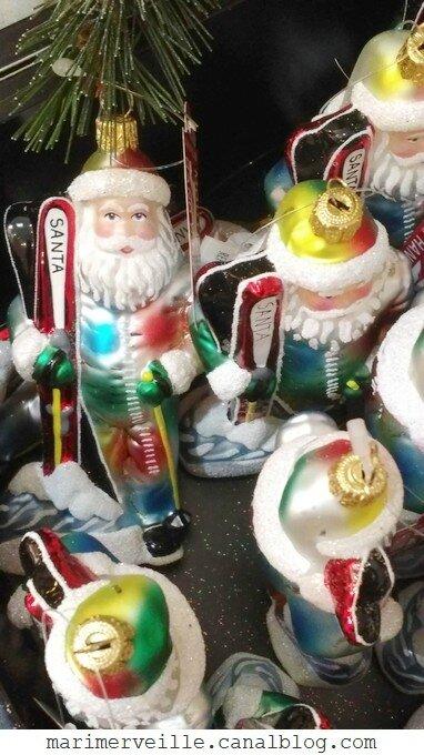 décorations de Noël Monts enneigés26 -le bon marché - marimerveille