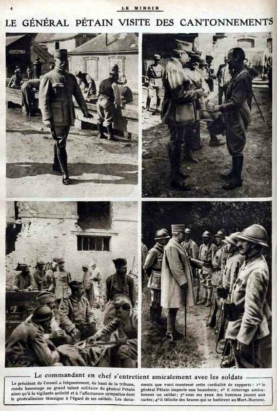 Pétain parmi ses hommes1