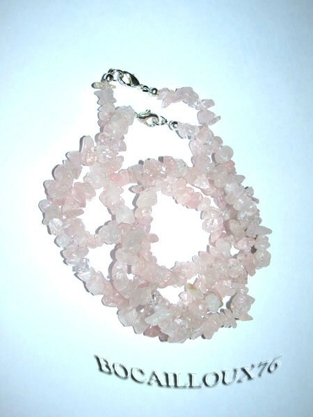 Collier QUARTZ Rose 7 (4)