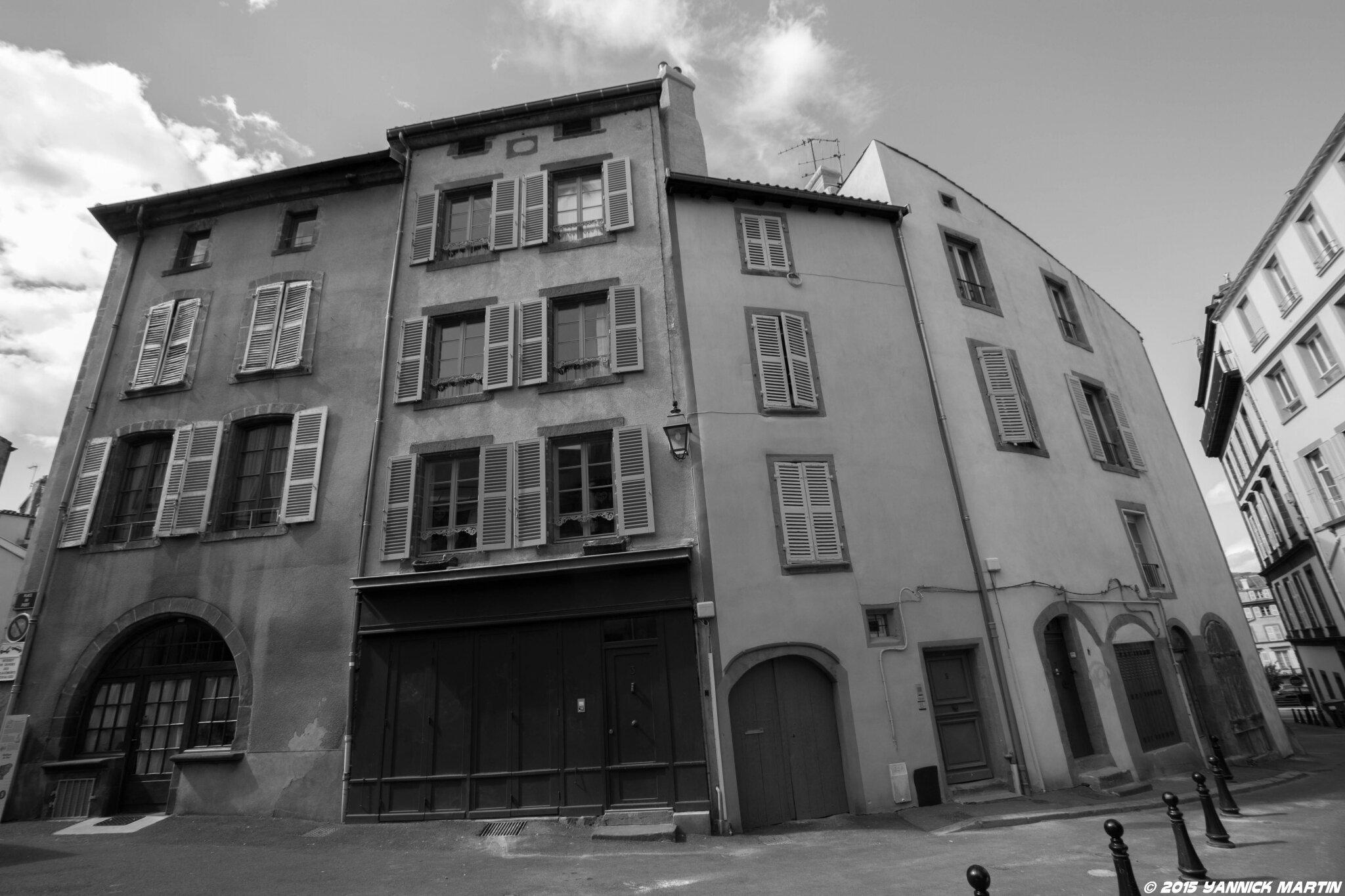 Le quartier de la rue du port de clermont ferrand yannick martin photographie - Rue du port clermont ferrand ...