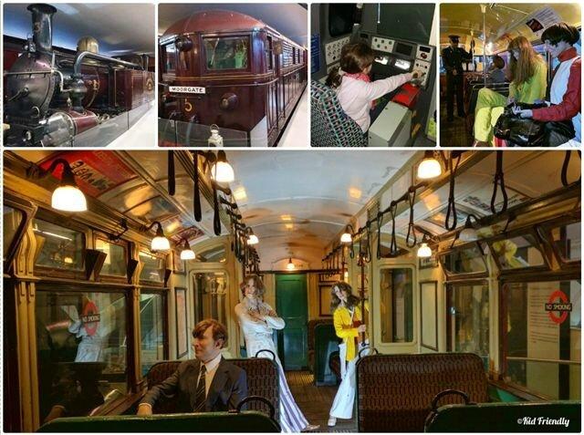 London Transport Museum ©Kid Friendly