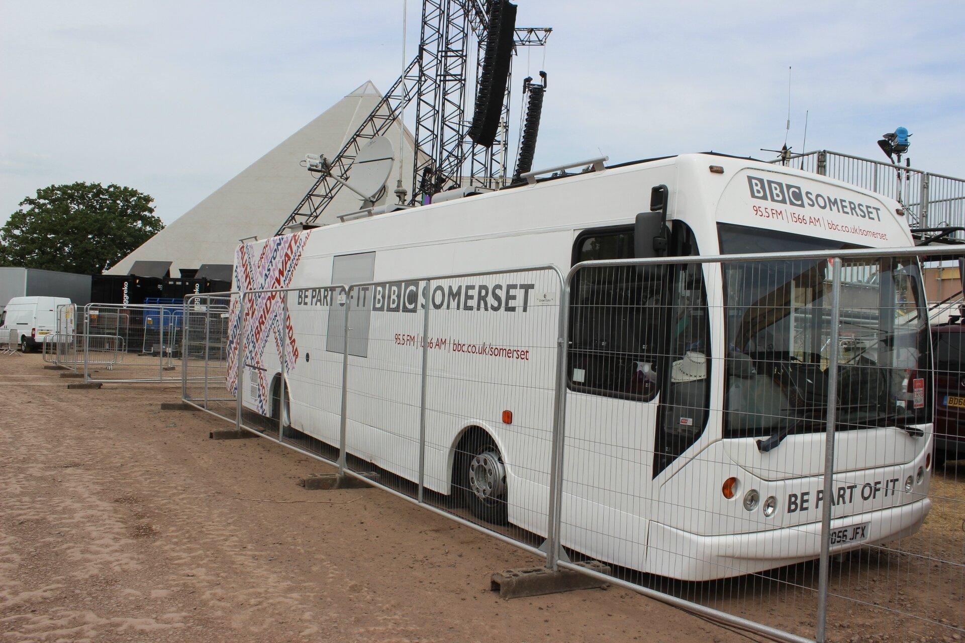 Glastonbury festival 2017 : la couverture médiatique de la BBC : TV radio internet