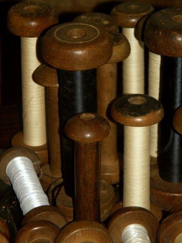 2011-02 Bobines de tisserands