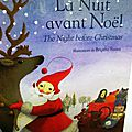 La nuit avant noël - the night before christmas