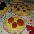 Tartelettes à la crème pâtissière gourmande
