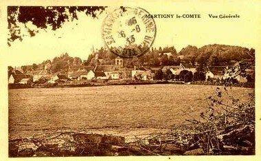 MARTIGNY LE COMTE village de mes ancêtres